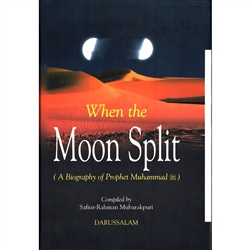 When The  Moon  Split Hard  Cover