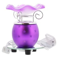 Purple Electric Oil Incense Burner