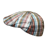 Men's Casual Multicolor Newsboy Cap