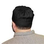 Islamic Muslim Men's Prayer Kufi Cap Black color