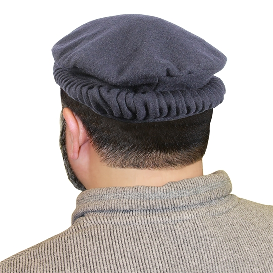 Traditional Afghan Ruffled Mens Cap Hat Kh379 Muslim