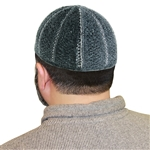 Cool Gray Stretchable One Size Fits Most Kufi Hat