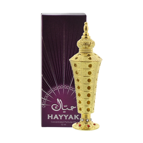 Hayyak Essential Scented Body oil blends in Exquisite bottle