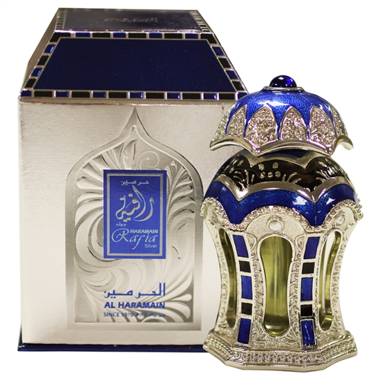 Al-Haramain: Rafia Silver 20 ml Concentrated Oud Perfume Oil