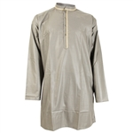 Long Sleeve Casual Kurta with Two Tone
