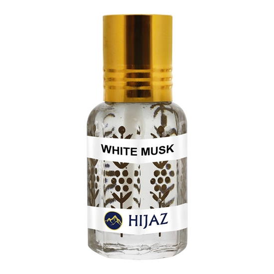 White Musk Alcohol Free Scented Oil Attar