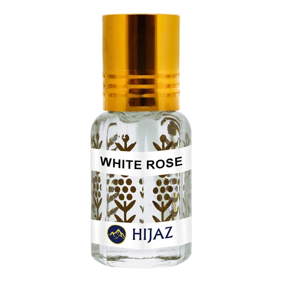 White Rose Alcohol Free Scented Oil Attar