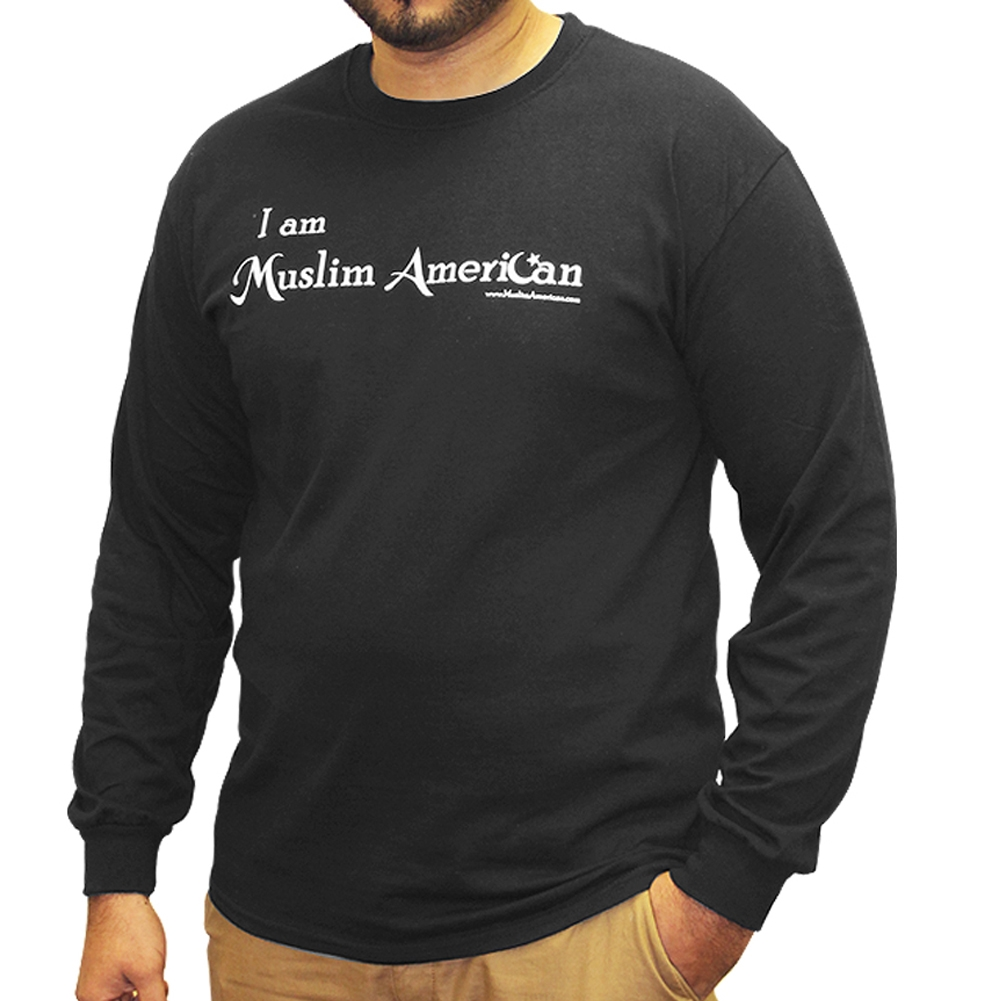I Am Muslim American Statement T Shirt Long Sleeves T01