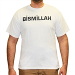 Custom Printed BISMILLAH T Shirts -XXX-Large Black
