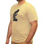 Muslim Prayer man Statement T Shirts
