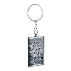 Picture of Masjid Nabawi Keychain with Mirror in the Back