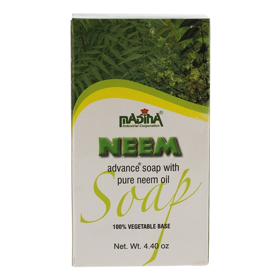African Black Soap 100% Vegetable Base Neem Advance Soap with Neem Oil