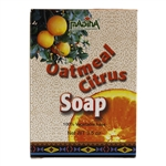 Citrus Soap with Oatmeal and Honey 100% Vegetable Base Soap