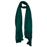 Plain Forest Green Lightweight Womens Jersey Hijab Scarf
