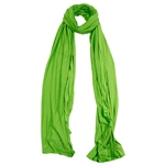Plain Lime Green Lightweight Womens Hijab Scarf