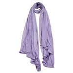 Lavender Purple Lightweight Womens Scarf Hijab