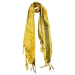Pashmina Blend Yellow Gold Women Hijab Scarf