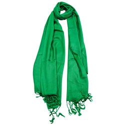 Green Spruce Blue Lightweight Women's Hijab Scarf