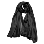 Sheer Shiny Pure Silk Chiffon Women's Scarf Hijab