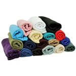 Plain Soft Rectangle Polyester Jersey Headscarf