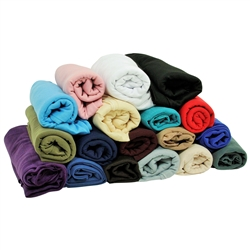 Plain Soft Rectangle Polyester Jersey Hijab