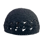 One Size Fits Stretchable Crochet Knit Weave Kufi