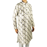 Men's Formal Cotton Cherry Blossom Long Kurta