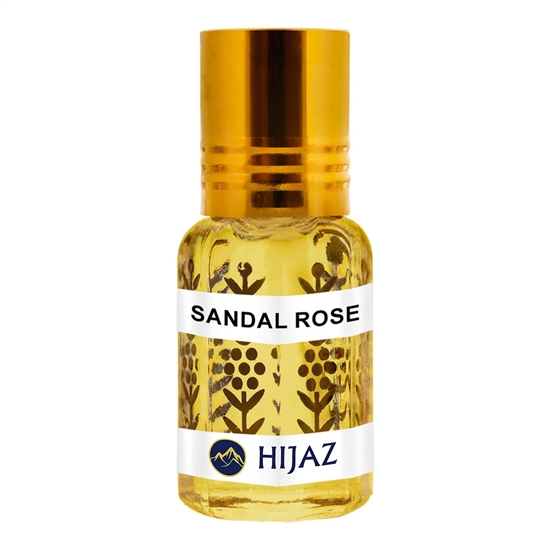 Sandal Rose Alcohol Free Scented Oil Attar