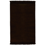 Muslim Prayer Rug 3.6' x 2.3' Solid Plain Tassels