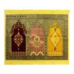 Premium Luxury Three Person Family Prayer Rug