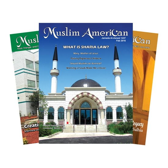 One Year Subscription of Muslim American Magazine
