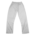 Men's Plain White Pure Cotton Thobe Kurta Pant Serwal Elastic Waist Slim Fit